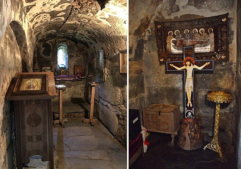 ушгульская старинная церковь
