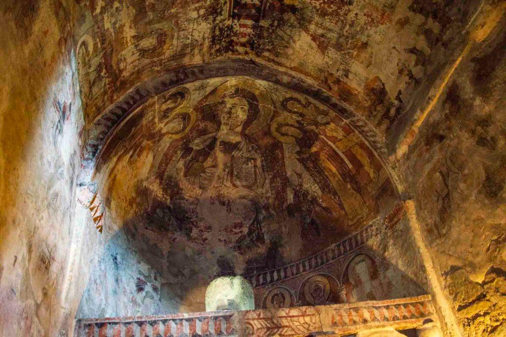 роспись потолка в Ламария