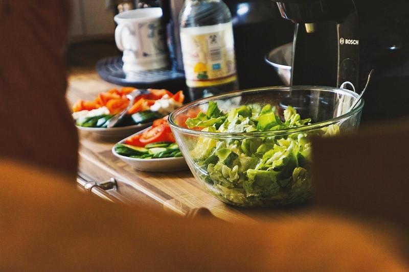 Грузинская кухня - салат из овощей