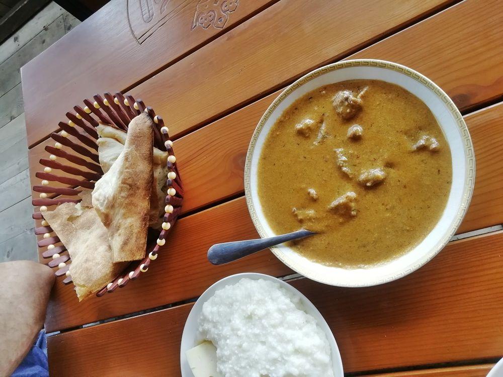 Мегрельская кухня - суп харчо