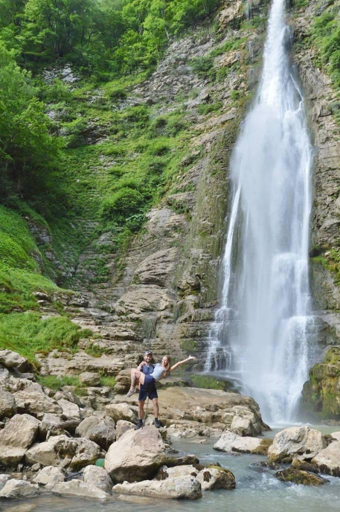 Водопады Грузии