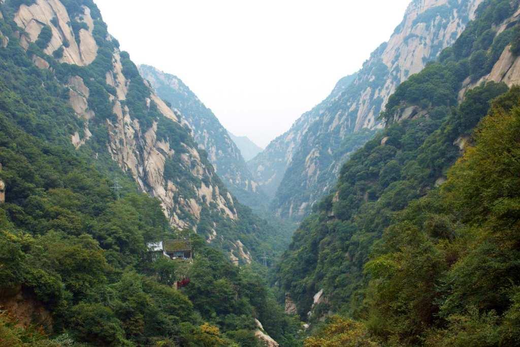 Ущелье Хуашань