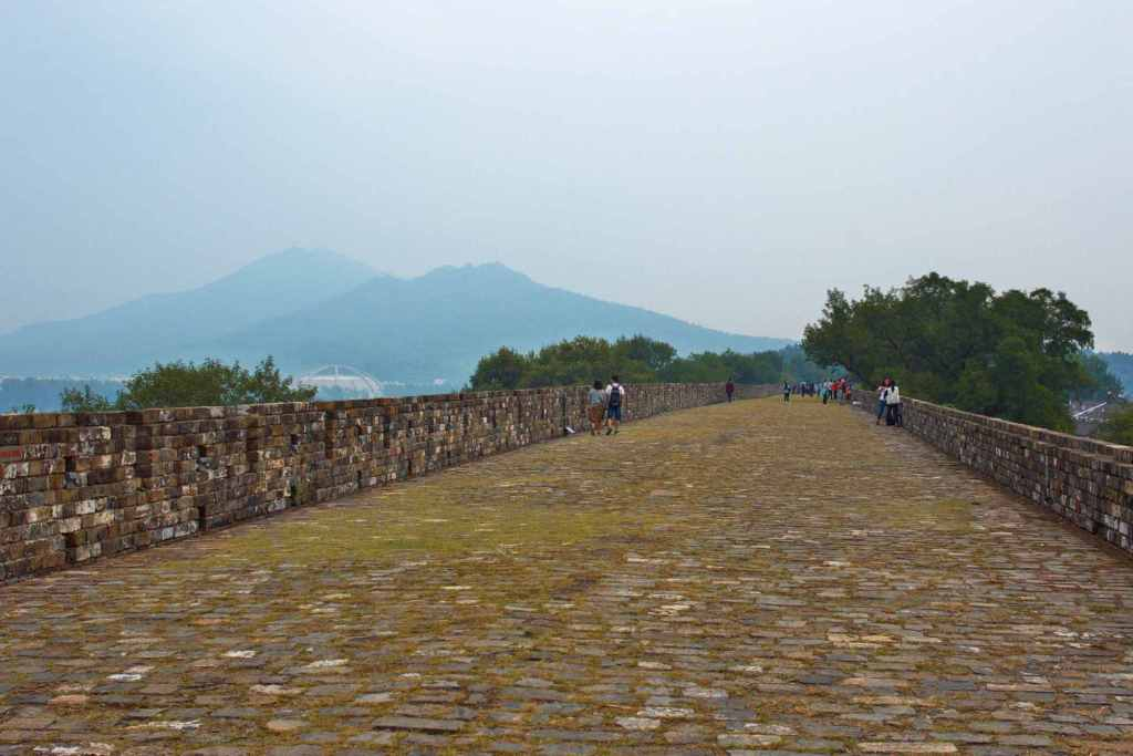 Стена в городе Нанкин