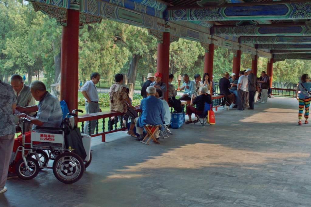 Китайцы отдыхают