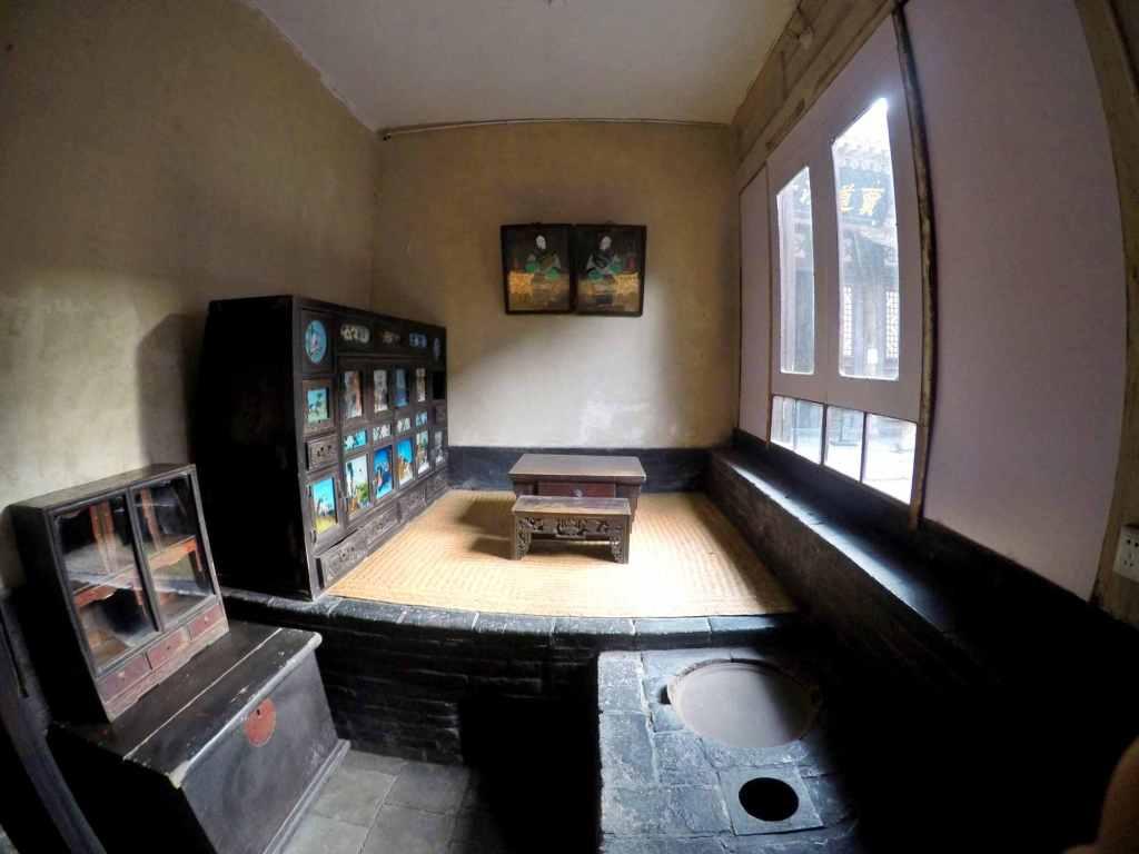 Экспозиция музея банка в пиньяо
