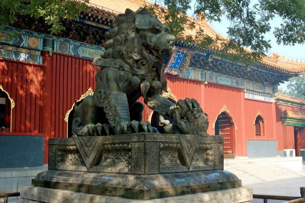 Бронзовый лев Юнхэгун