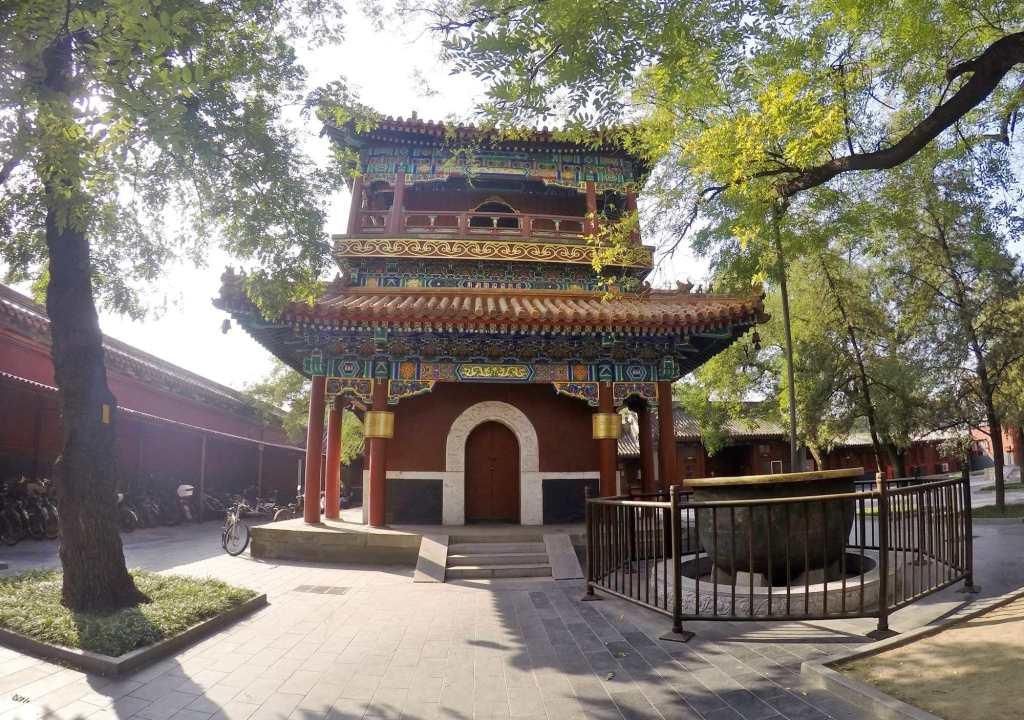 Здание в китайском стиле