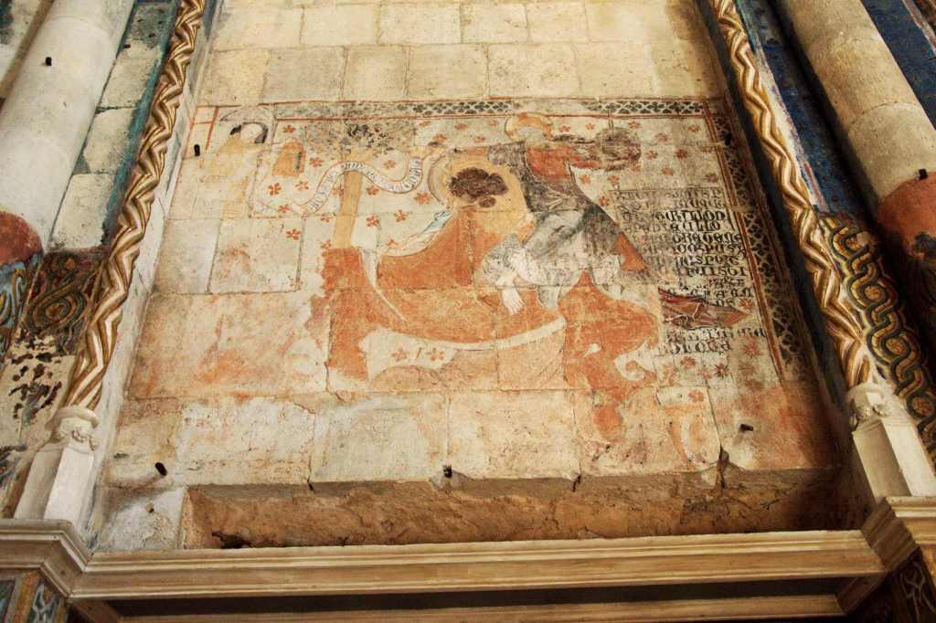 Фреска в католическом храме