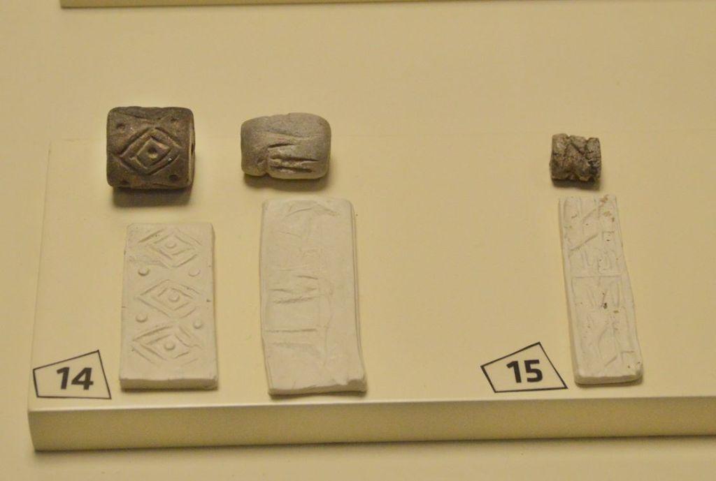 Месопотамские печати в музее