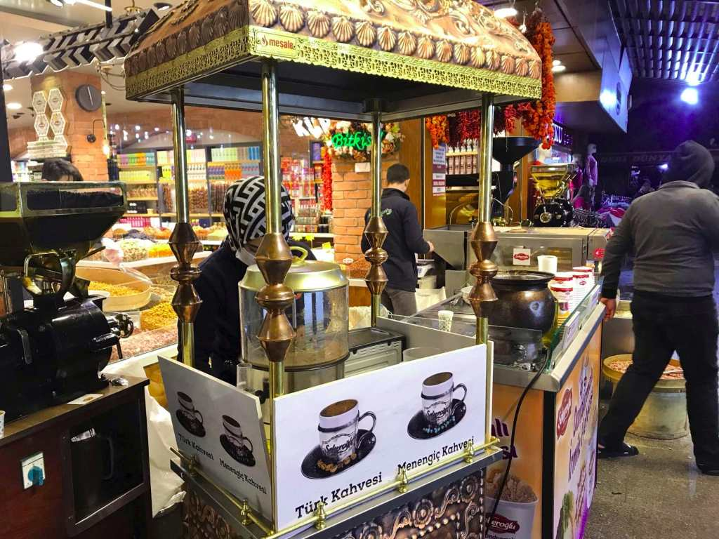 Кофе на вынос в Турции