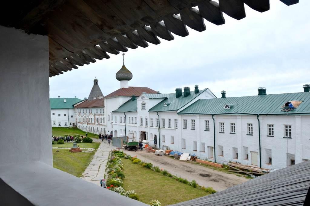 Основные здания монастырь - Соловецкие острова