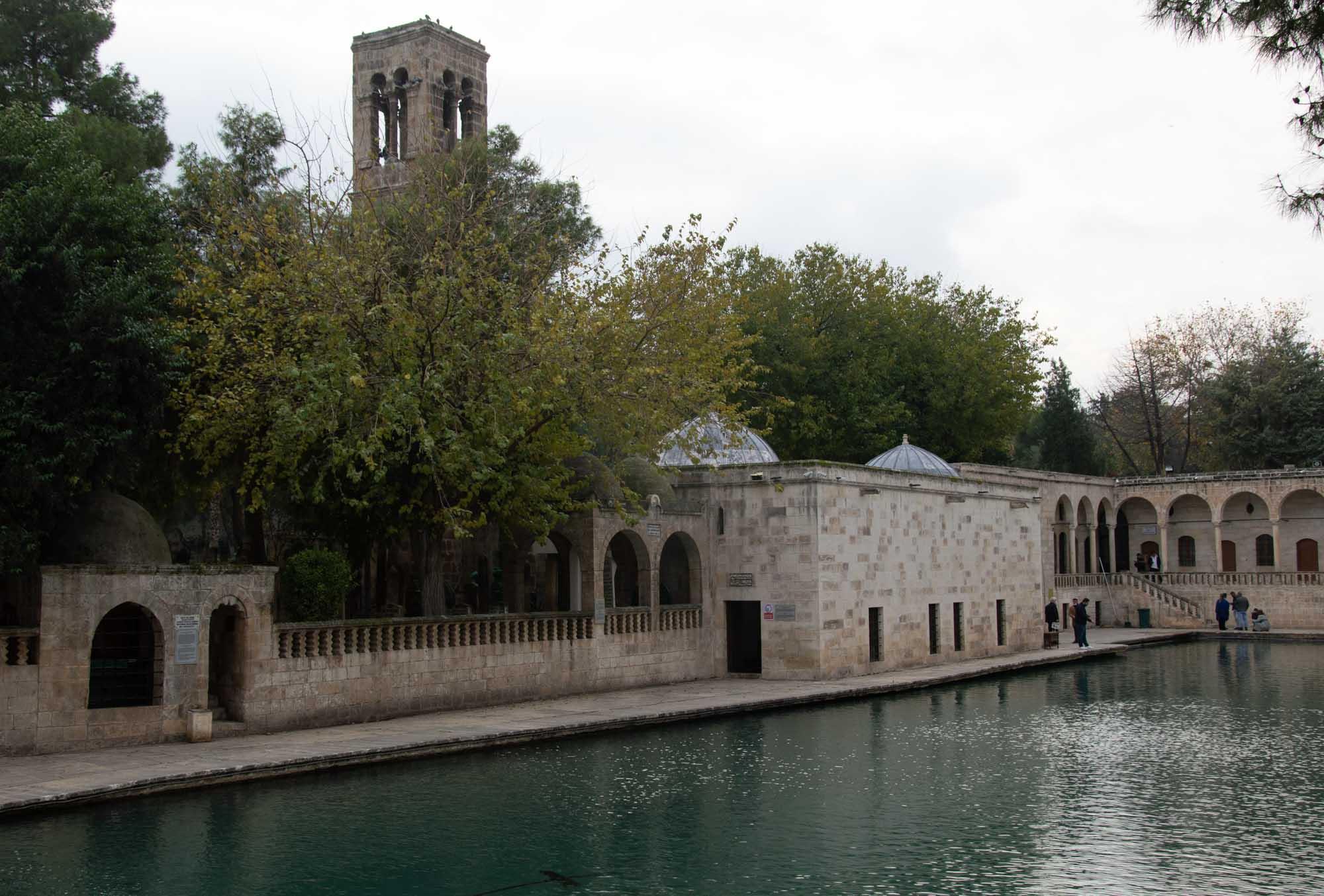 Парк у пруда Балыклы