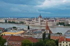 Будапешт - вид сверху