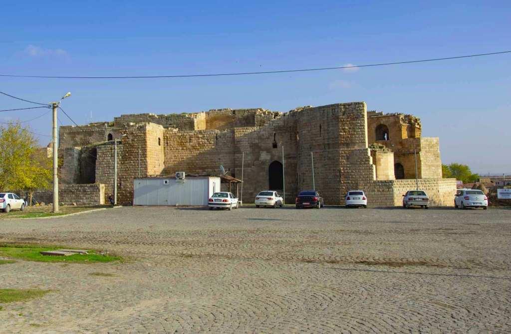 Крепость на границе с Сирией