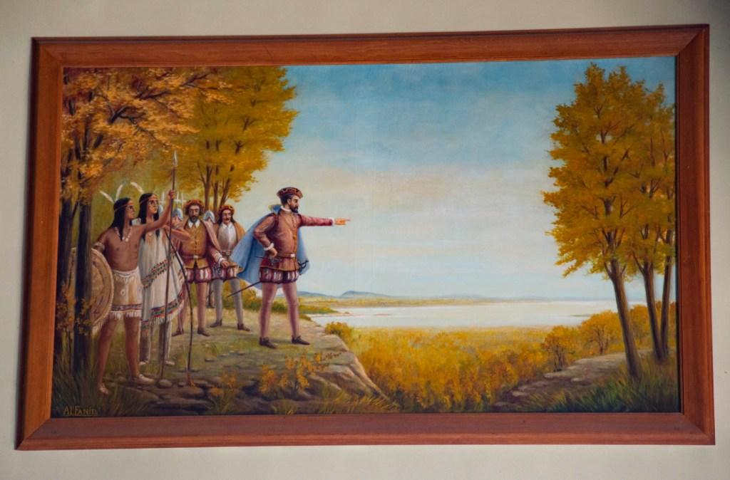 Картина канадского живописца