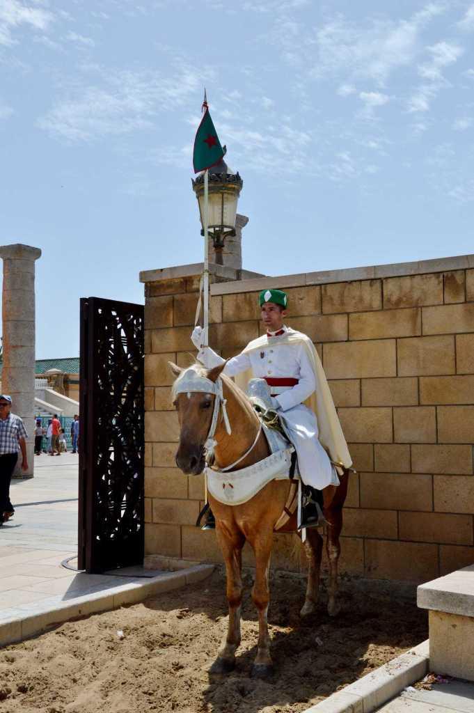 Гвардия у входа в замок Хассана