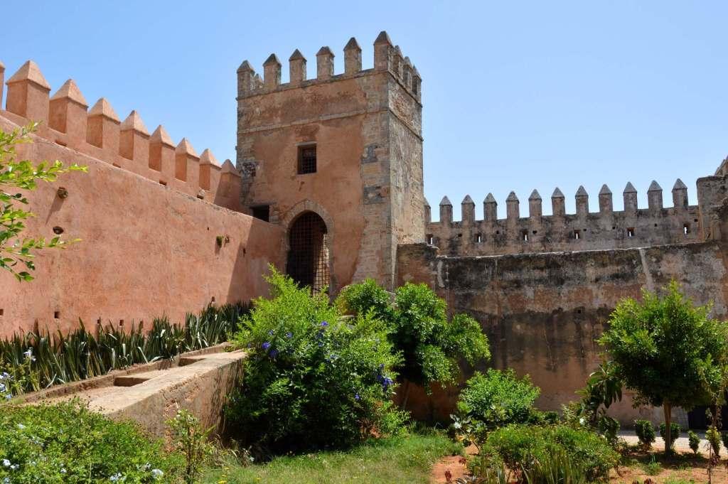 Андалузский сад у крепости