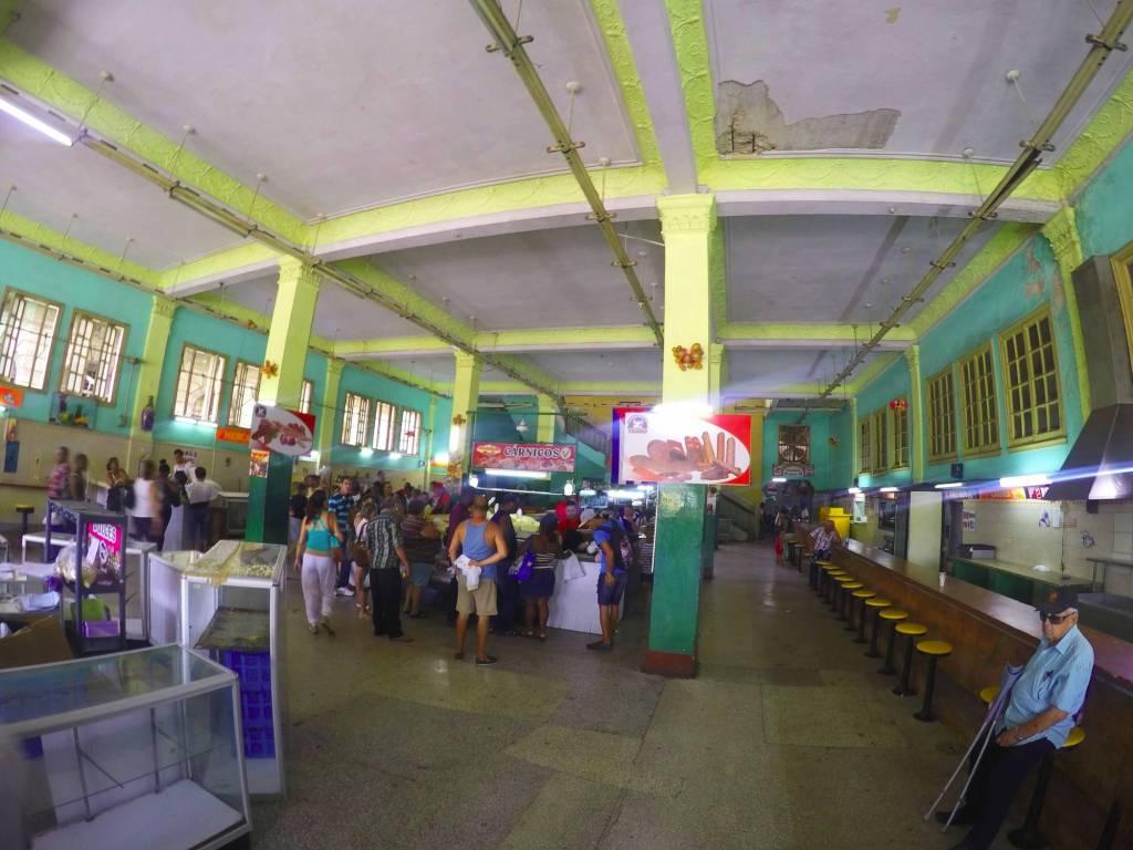 Магазин в Гаване - интерьер и очереди