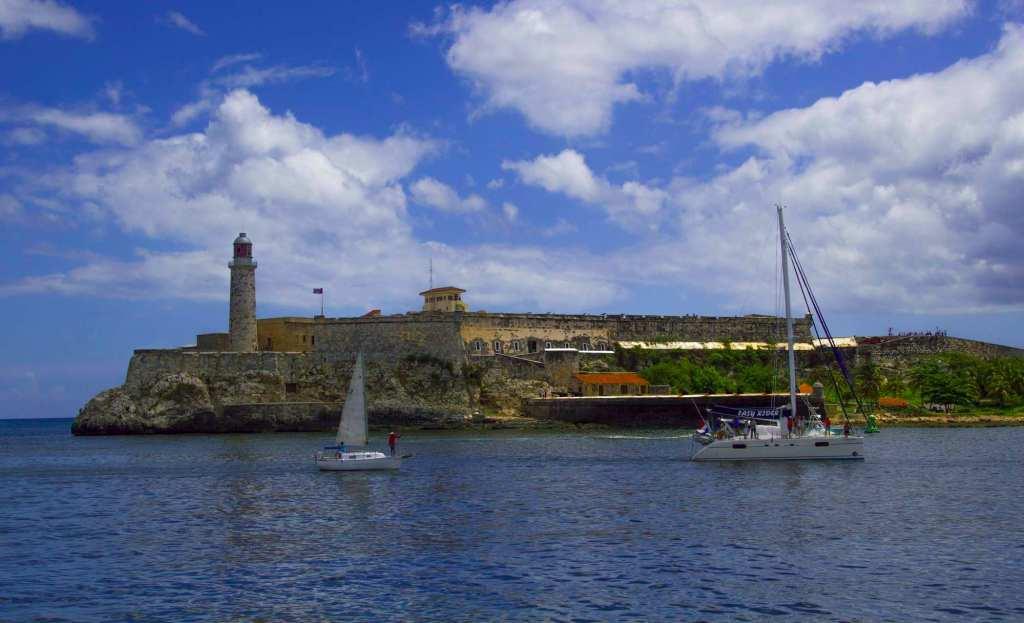 Фортификационное сооружение на набережной в Гавана
