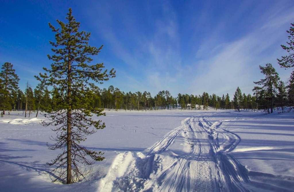 Солнечный день - Лапландия
