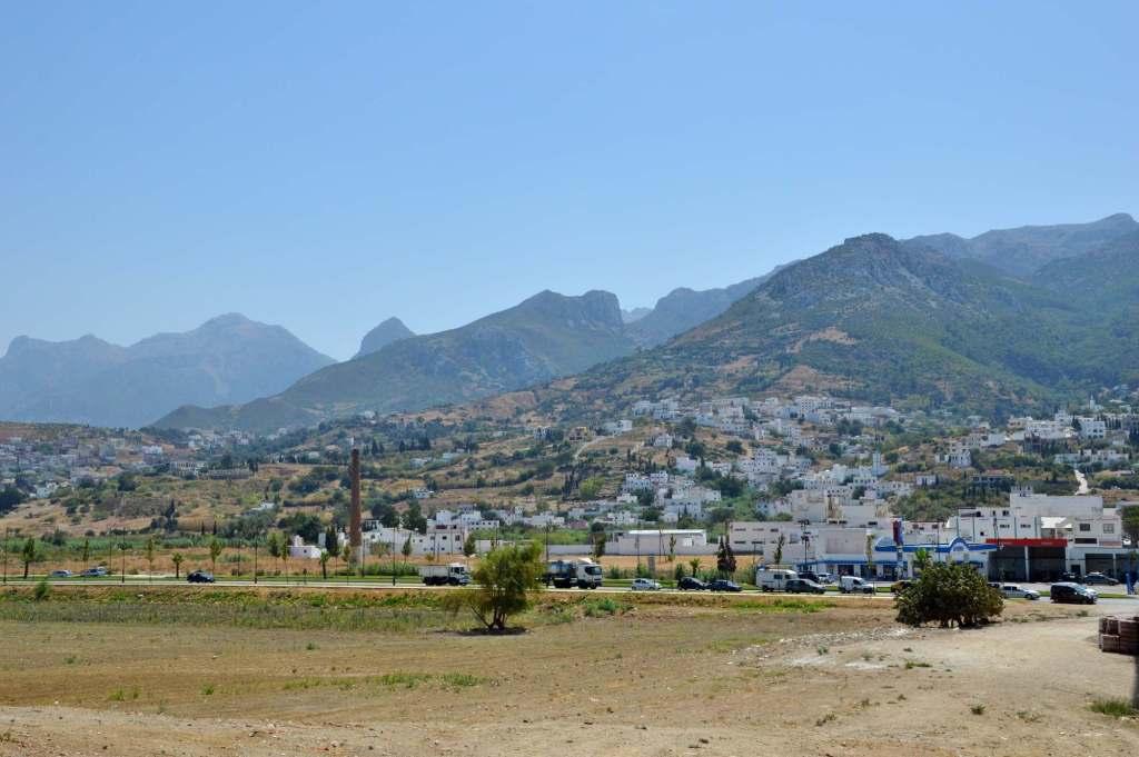 Горная цепь в Марокко