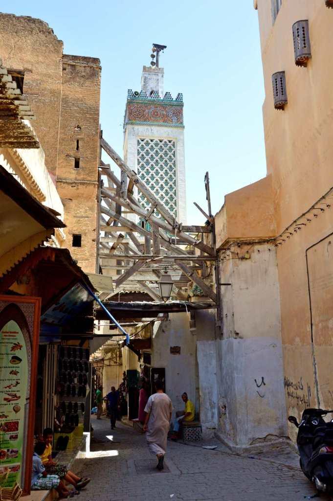 Утро на рынке в Марокко