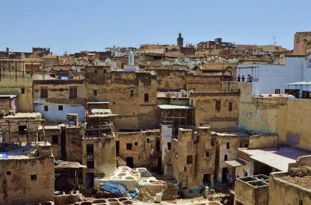 Панорама города Фес
