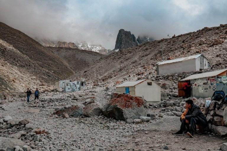 Хижина Рацека — стоянка альпинистов