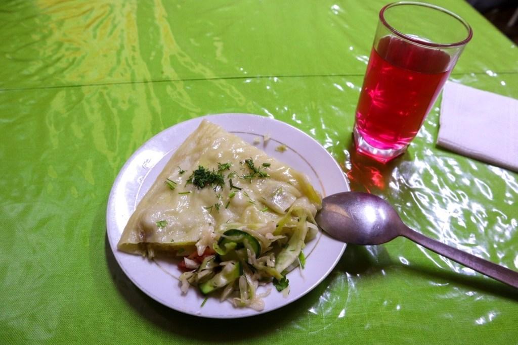 Оромо и компот — киргизская кухня