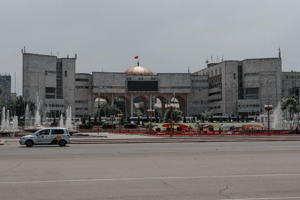 Центр столицы Кыргызстана