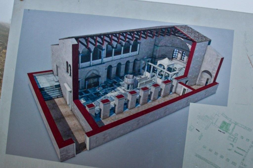 план реконструкции храма апостола филиппа в хиераполисе