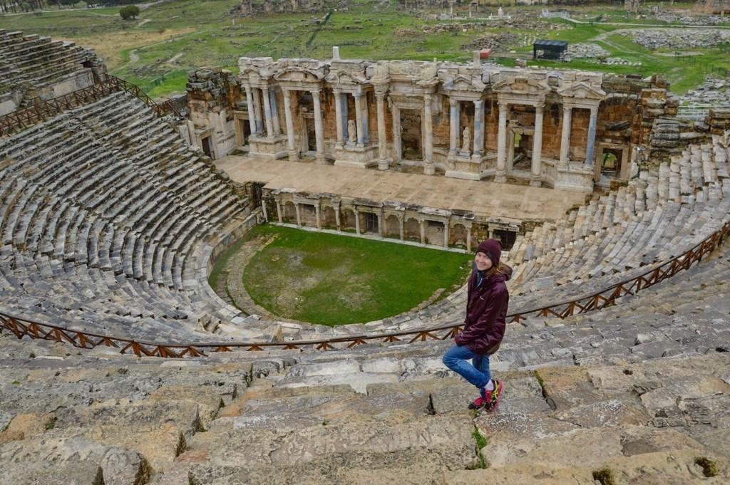 Театр в городе Иераполис