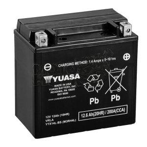 Bateria Para Motocicleta Yuasa Ytx14l-bs U.s.a.