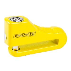 Candado De Disco Para Motocicleta Promoto 10mm Amarillo
