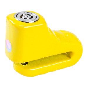Candado De Disco Para Motocicleta Promoto 5mm Amarillo
