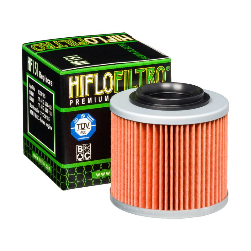 Filtro De Aceite P/motocicleta Hiflo Hf151 / Hf-151