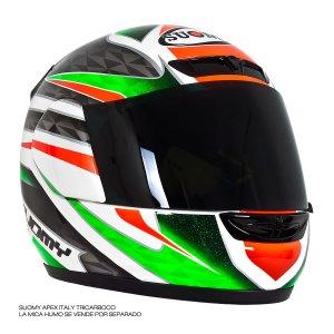 Casco Motociclista Integral Certificado Suomy Apex Italy