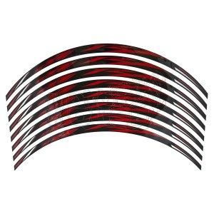 Calcomania Para Rin Motocicleta R1 Negro/rojo