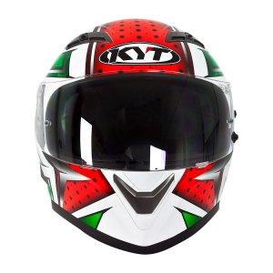 Casco Integral P/ Motociclismo Kyt Falcon Allstars Verde