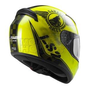 Casco P/ Motociclismo Integral Ls2 Ff352 Rookie Fan Amarillo