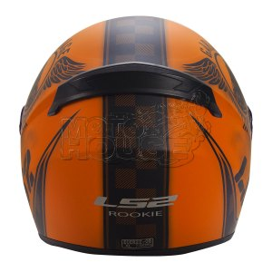 Casco P/ Motociclismo Integral Ls2 Ff352 Rookie Fan Naranja