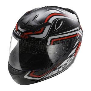 Casco P/ Motociclismo Integral Ls2 Ff352 Rookie Ranger Ng/rj