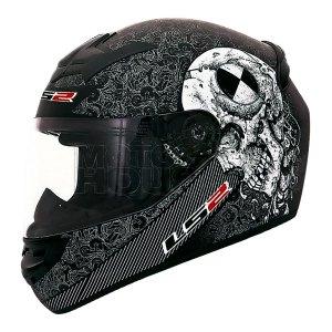 Casco P/ Motociclismo Integral Ls2 Ff352 Rookie Test Machine