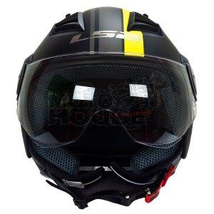 Casco Jet P/ Motociclismo Ls2 Of562 Airflow Metropolis