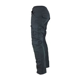 Pantalon Italiano C/ Proteccion P/ Moto Pmj Santiago Gris