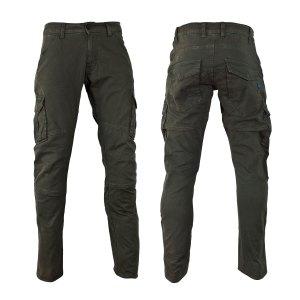 Pantalon Italiano C/ Proteccion P/ Moto Pmj Santiago Verde