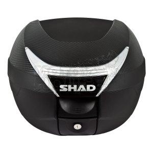 Baul / Maletero Para Motocicleta Shad Sh34 Carbono 34 Lt Cap