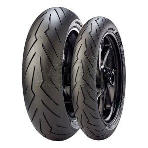Llanta Para Motocicleta Pirelli Diablo Rosso 3 120/70-17 58w