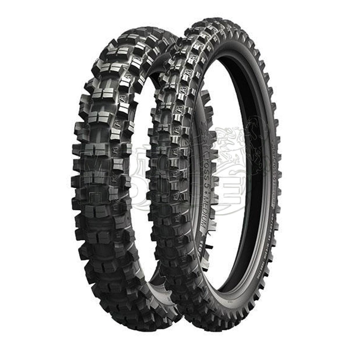 Llanta Para Moto Cross Michelin Starcross 5 Med.  90/100-14