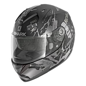 Casco Integral Shark Ridill Drift Negro/plata